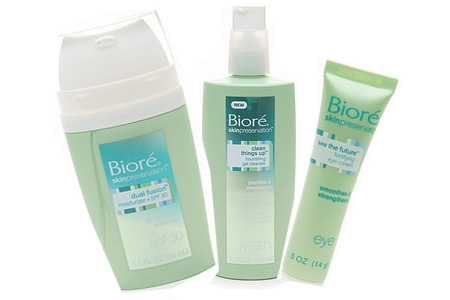 Biore skin care line