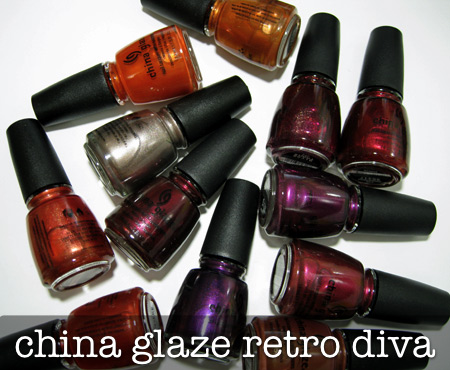 china glaze retro diva all