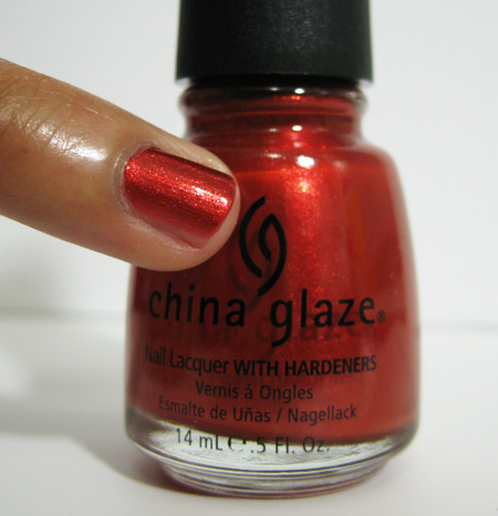 china glaze retro diva drive in 739
