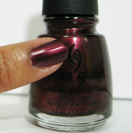 china glaze retro diva short and sassy 732