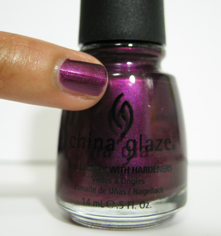 china glaze retro diva stella 734