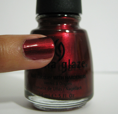 china glaze retro diva thunderbird 738