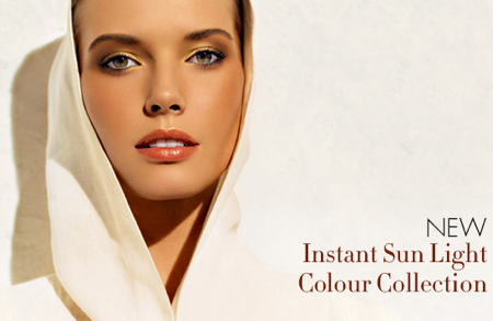 clarins instant sun light colour collection