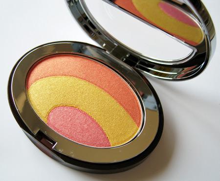 clarins instant sunlight soleil irise shimmer palette