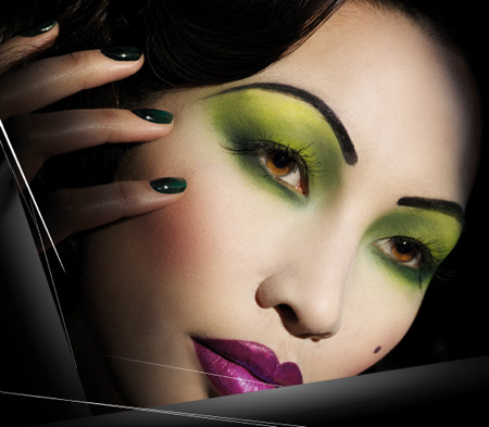 illamasqua cosmetics 1920s berlin collection