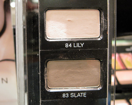 les naturels de chanel lily and slate eyeshadow