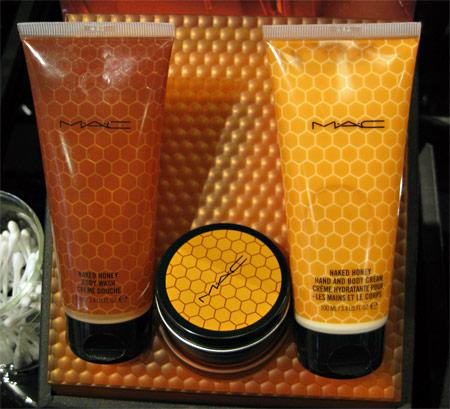 mac naked honey body wash hand and body cream skin salve
