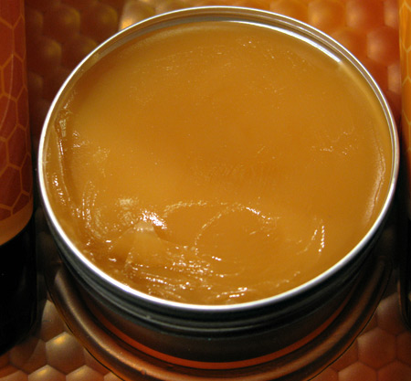 mac naked honey skin salve