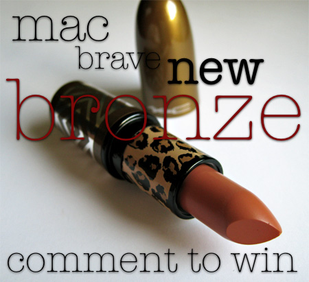 mac style warrior brave new bronze
