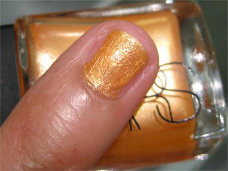 nars vintage 2009 nail polishes cha cha cha