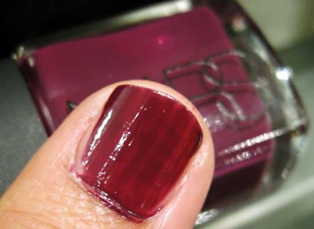 nars vintage 2009 nail polishes tallulah
