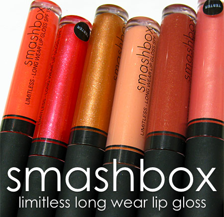 smashbox limitless long wear lip gloss final