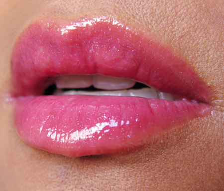 sonia kashuk ultra shine sheer lip gloss beauty lip swatch