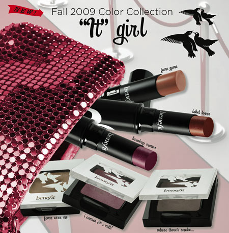 benefit it girl collection fall 2009 collection