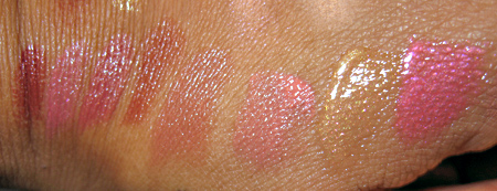 chanel venice collection fall 2009 swatches reviews arlequin courtisane rouge allure