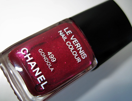 chanel venice fall 2009 499 gondola le vernis nail colour bottle