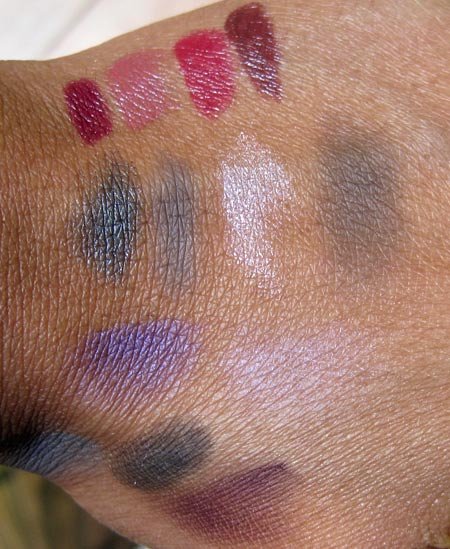 dior jazz club collection fall 2009 lipsticks eyeshadows quint swatches
