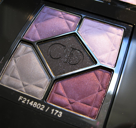 dior jazz club collection fall 2009 night butterfly 173 5 colour eyeshadow