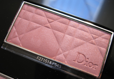 dior jazz club collection fall 2009 strawberry sorbet rose 943 glowing color powder blush