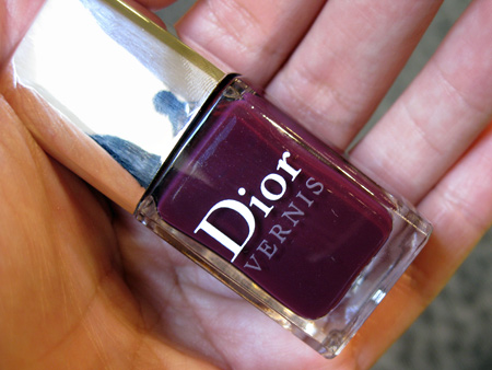 dior jazz club collection fall 2009 vernis black plum 981
