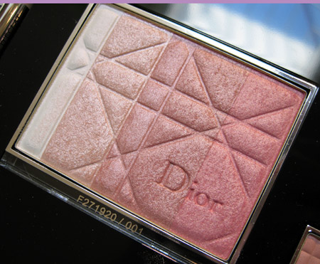 dior jazz club collection fall 2009 diorskin shimmer star rose diamond 001