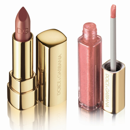 dolce gabbana the make up romantic collection fall 2009 classic cream lipstick and gloss