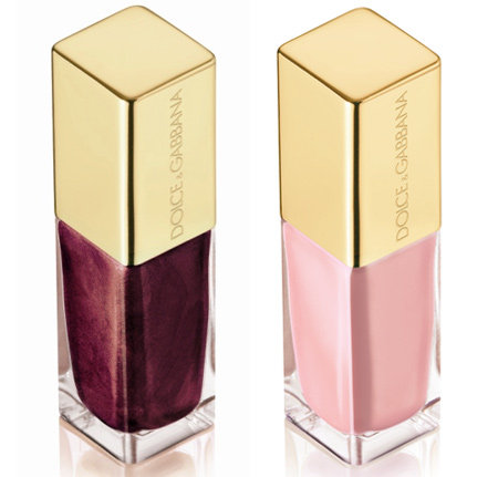 dolce gabbana the make up romantic collection fall 2009 intense nail lacquer in soft 205 pink 100