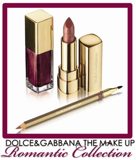 dolce gabbana the make up romantic collection fall 2009 top