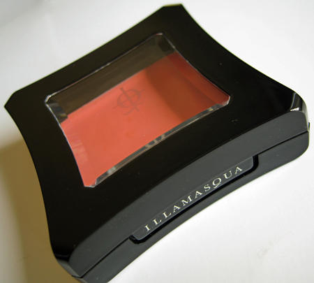 illamasqua makeup reviews cream blusher rude 2