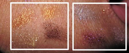 mac-colour-craft-swatches-reviews-natural-flare-odd-bits-with-flash