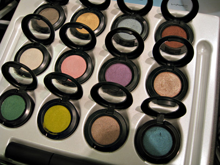 mac love that look starflash swatches review all shadows