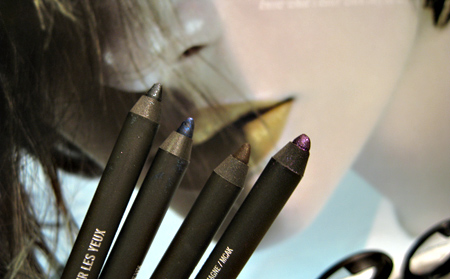 mac love that look starflash swatches review pearlglide liners
