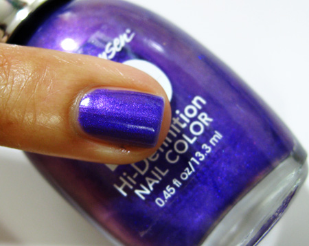 sally hansen hd hi definition nail color cyber