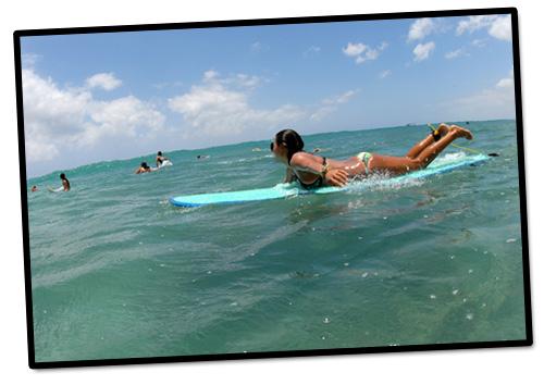 Saturday morning surfing