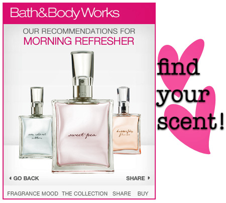 bath and body works find your fragrance 5