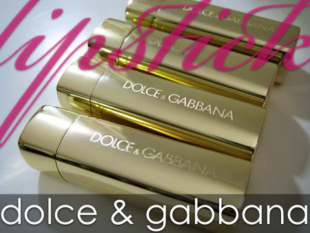 dolce gabbana makeup lipsticks