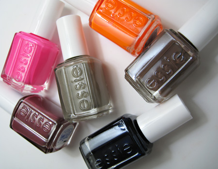 Essie Fall 2009 Color Collection swatches