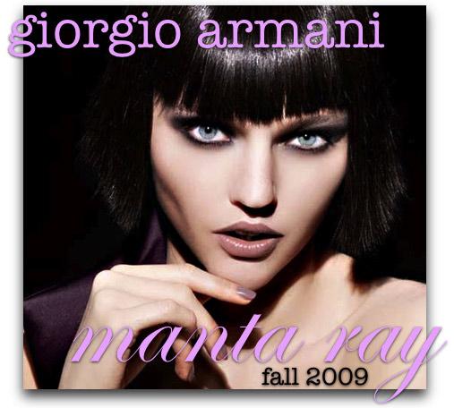 giorgio armani manta ray swatches reviews