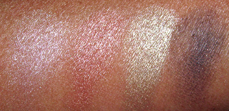 mac make up art cosmetics swatches 1 notoriety quad