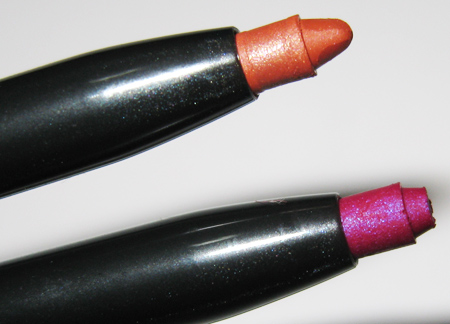 mac make up art cosmetics technakohl full of fuchsia obviously orange
