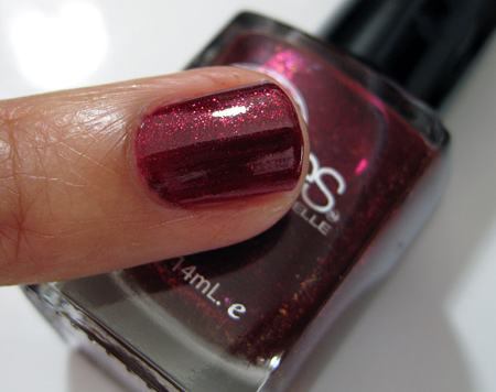 Barielle All Lacquered Up Swatches Glammed Out Garnet