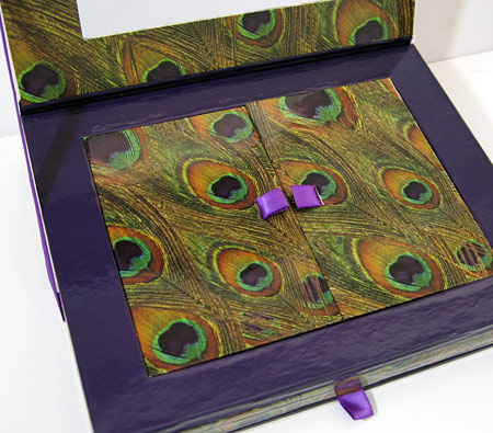 Urban Decay Book of Shadows Vol. II open