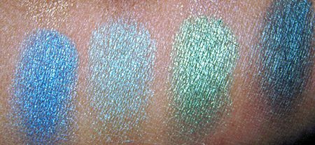 Urban Decay Book of Shadows Vol. II swatches-4
