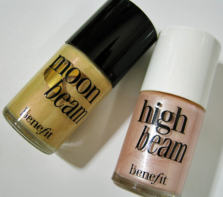 Benefit HIGH BEAM Vs Benefit MOON BEAM Luminizer  Iheartmakeup