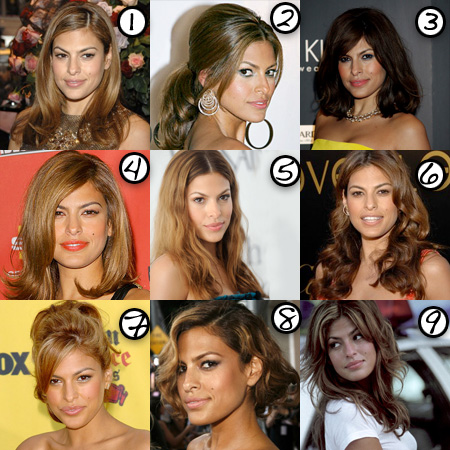 Eva Mendes: Her Best Hair?