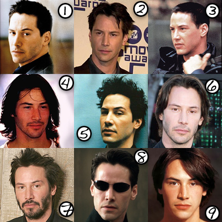 Keanu Reeves: His Best Hair?
