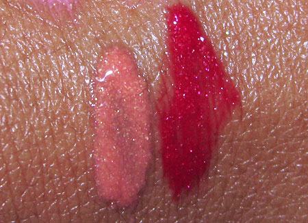 mac cosmetics dazzleglass creme swatches sublime shine totally fab 7