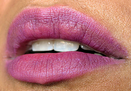 mac cosmetics ny fashion week spring 2010 vena cava lip 1