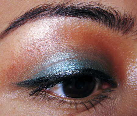 mac cosmetics tutorial fashion week look eye 2