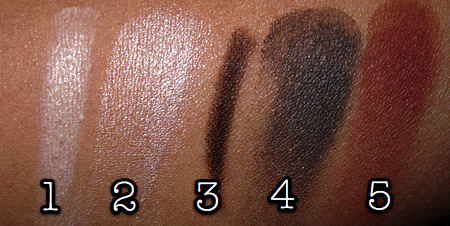 mac cosmetics tutorial fashion week look swatches 1